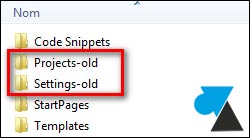Copia de seguridad de un entorno de desarrollo de Visual Studio 3