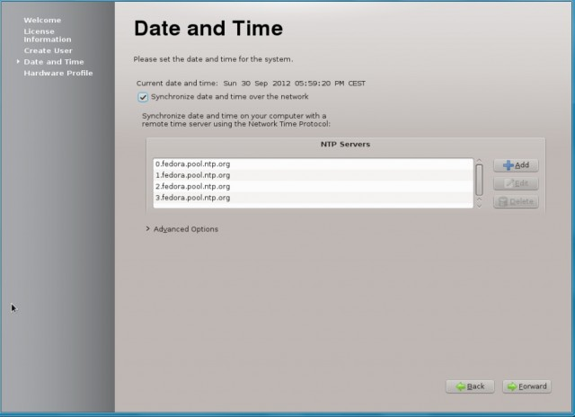 Fedora 17 KDE, instalación en un disco duro vacío 14