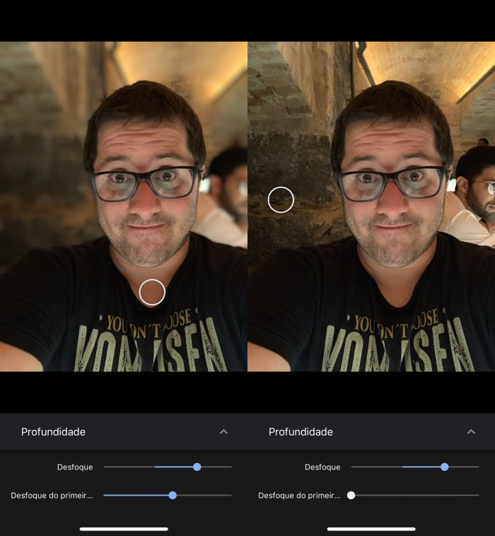 Google Photos te permite editar el efecto bokeh en retratos en iPhone y Moto G6