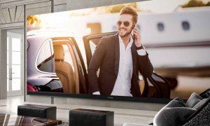 El televisor 4K más grande del mundo mide 262 pulgadas de largo y cuesta sólo $539,000!