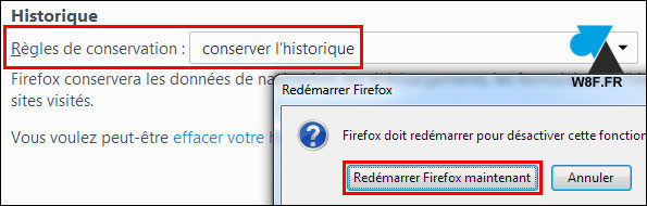 Mozilla Firefox: imposible reabrir las últimas pestañas usadas 4