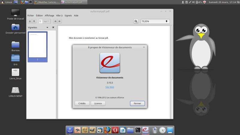 Guarde su documento en formato PDF en Linux 12