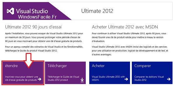 Visual Studio 2012: amplía el periodo de evaluación 3