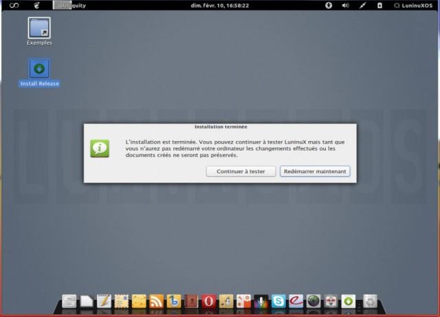 Luninux OS, instalarlo en un disco duro en blanco 9