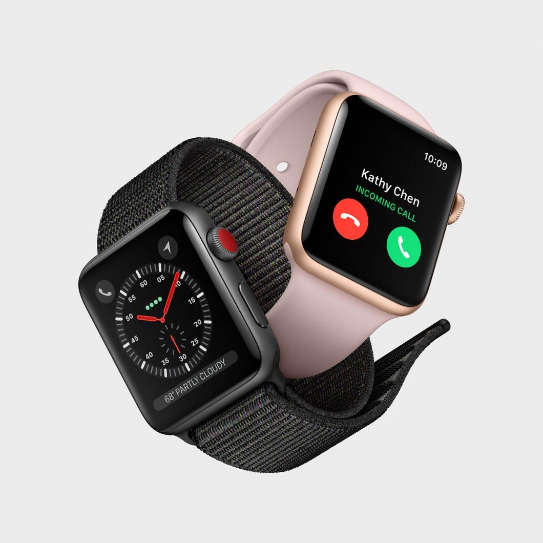 Un vistazo más de cerca a la Apple Watch Serie 3 con 4G