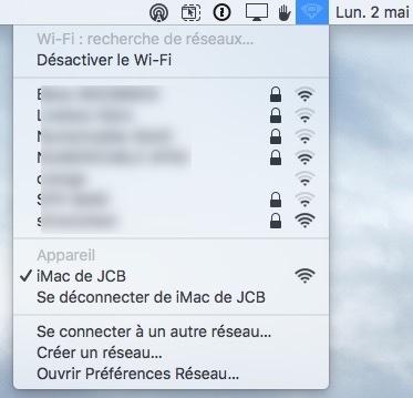 Crear una red WiFi en Mac OS X El Capitan para invitados (ad hoc) 4