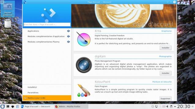 Fedora 27 con KDE 7