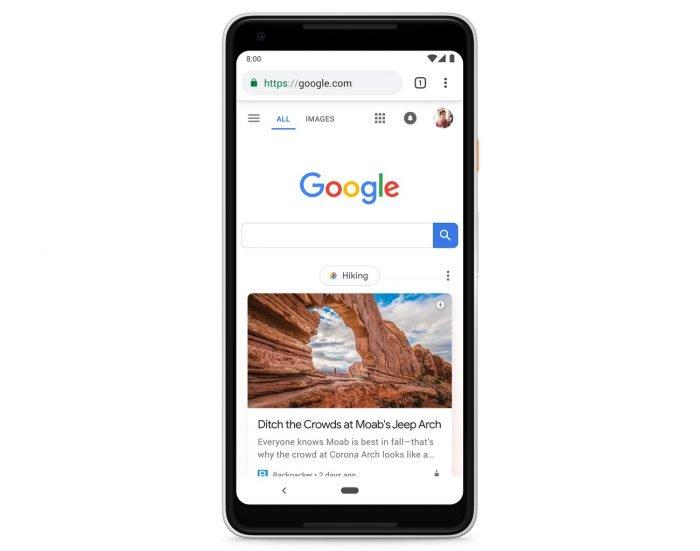 Google comienza a publicar nuevas fuentes de Discover en el sitio para móviles
