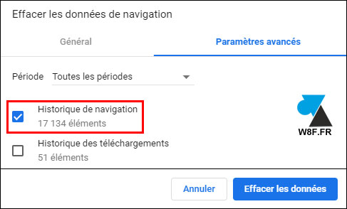 Google Chrome: eliminar el historial de Internet 4