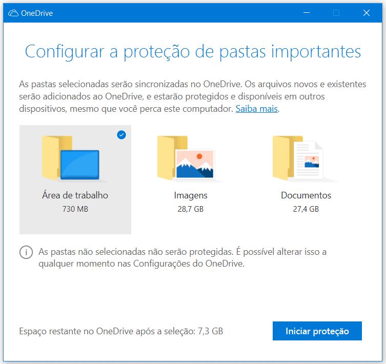 Microsoft OneDrive ahora hace copias de seguridad de su escritorio, documentos y fotos