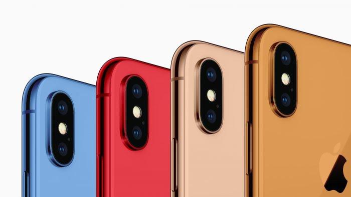 iPhone podría ganar nuevas opciones de color en 2018