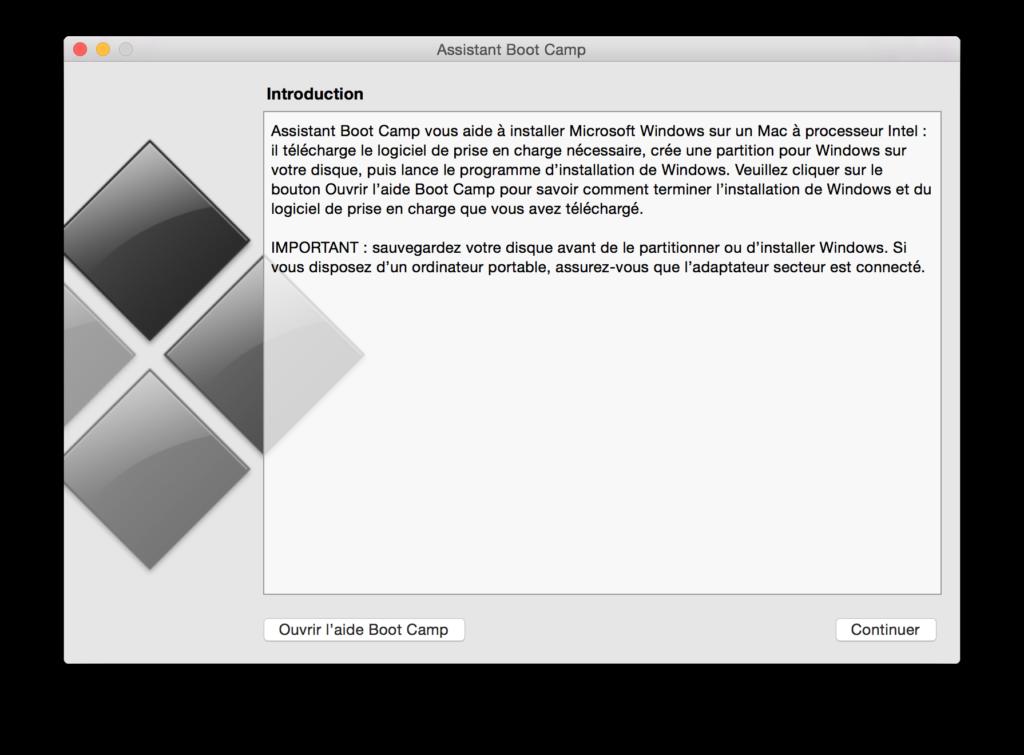 Instalación de Windows en un MacBook Pro Retina 1
