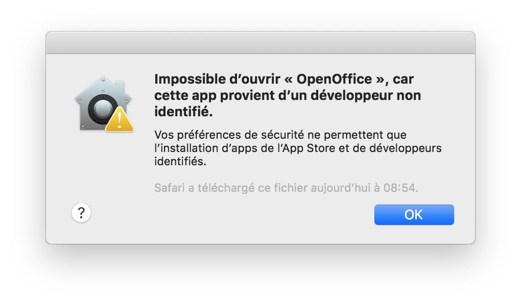 Abrir aplicaciones no identificadas en macOS Mojave (10.14) 1