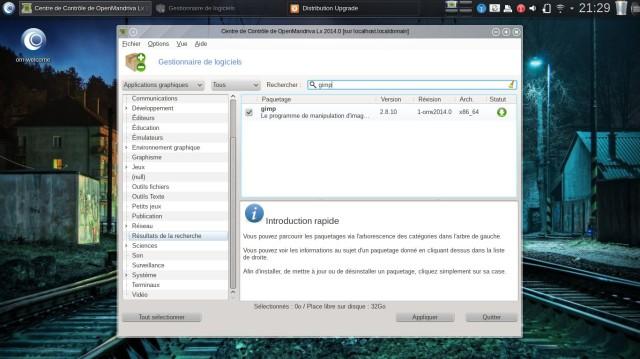 Varios días con OpenMandriva LX 10