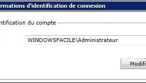 Symantec Backup Exec: modificar la cuenta de inicio de sesión