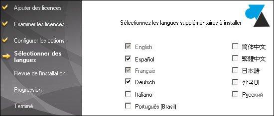 Cambio del idioma de un servidor Symantec Backup Exec