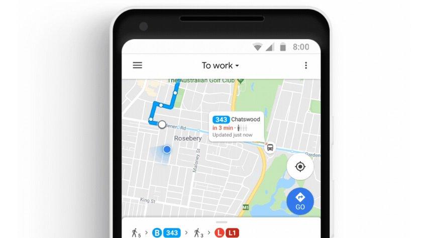 Google Maps muestra en tiempo real dónde se encuentra su autobús en São Paulo y Río de Janeiro