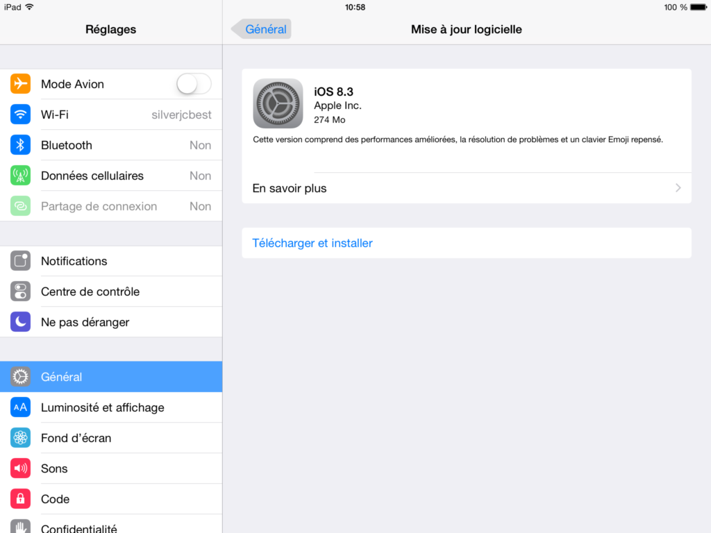 iOS 8.3 disponible para iPhone, iPad e iPod 1