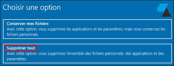 Restaurar o reinstalar un PC con Windows 10 5