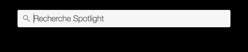 Cómo configurar Spotlight Yosemite (Mac OS X 10.10) 1