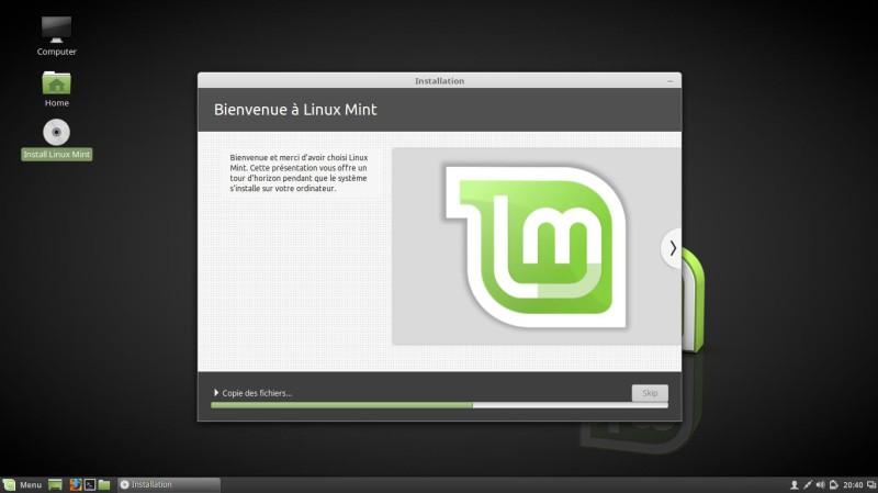 Cómo instalar Linux Mint 18 Cinnamon 9