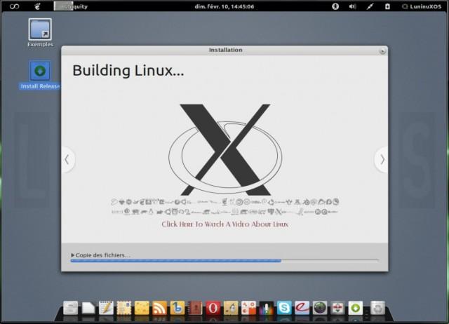 Luninux OS, instalarlo en un disco duro en blanco 8
