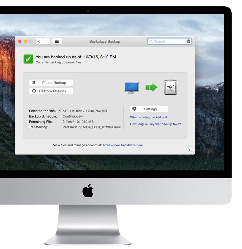 Guarda tu Mac en la nube sin límites! (o su PC) 1
