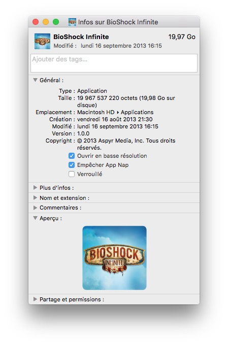Optimizar un juego en la pantalla de Mac / MacBook Retina 3
