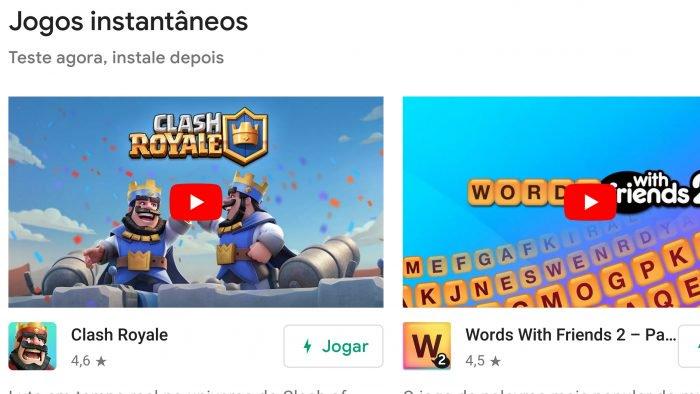 Google te permite probar algunos juegos de Android sin necesidad de instalarlos.