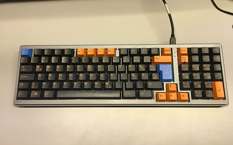 ¿Cuáles son los tipos de formatos de teclado? 15