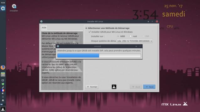 Instalé MX Linux 17 Beta 2 9