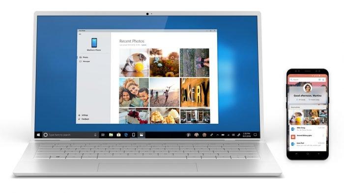 Windows 10 descarga sus fotos recientes de Android con la aplicación de Microsoft