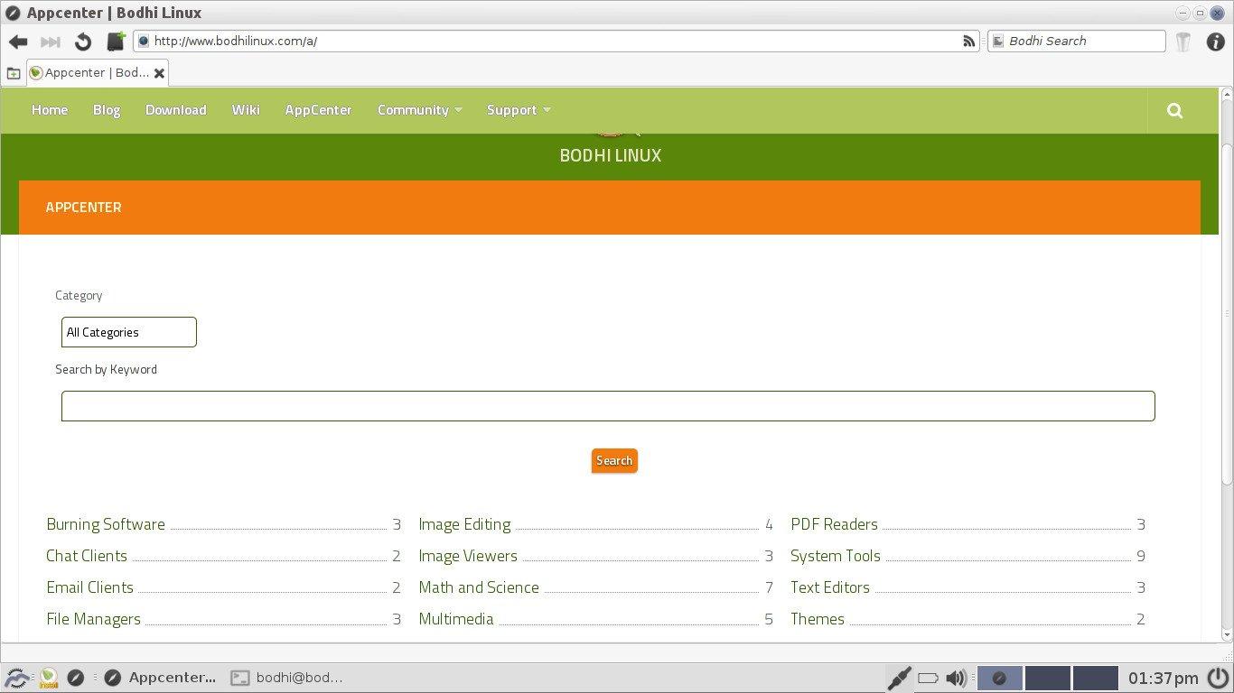 Bodhi Linux una nueva versión para probar absolutamente