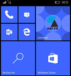 Actualización de Windows Phone 8 a Windows 10 Mobile smartphone 7