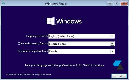 Instalar la vista previa técnica de Windows 10 2
