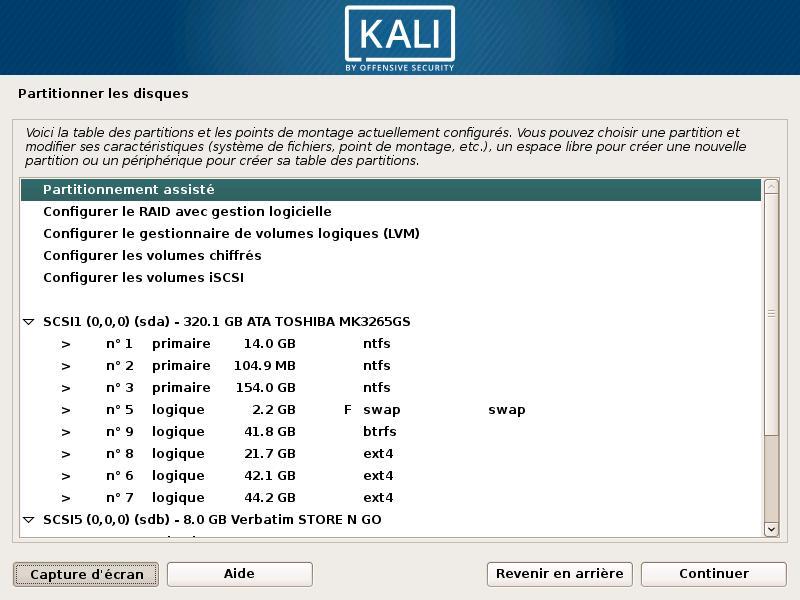 Cómo colocar Kali Linux en una llave USB o DVD 14
