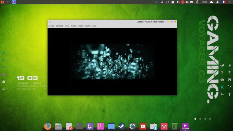 Voyager Linux 16.04.2 LTS basado en el escritorio XFCE de Xubuntu 11