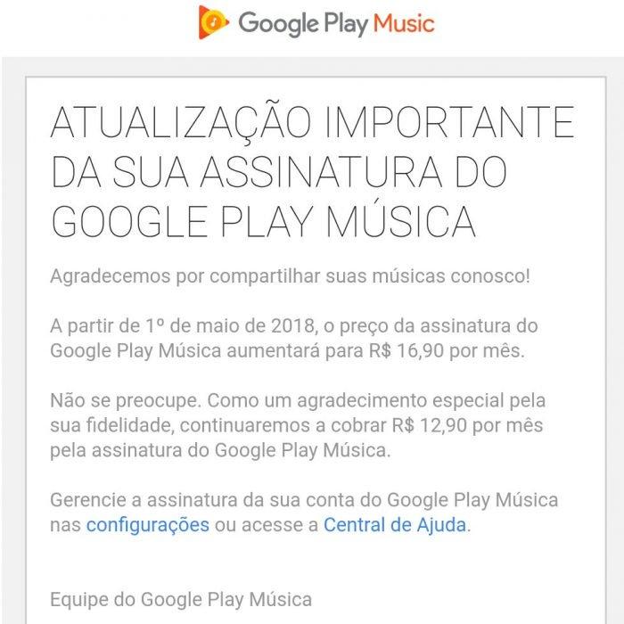 Google Play Music aumenta los precios de las suscripciones individuales y familiares 2