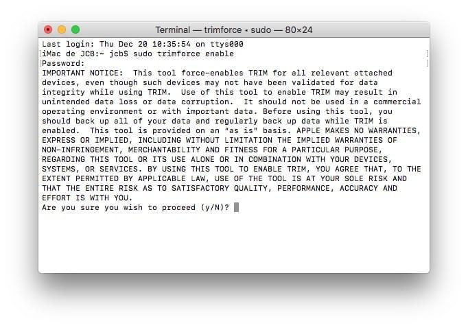 Optimización de las unidades SSD de tu Mac: consejos 1