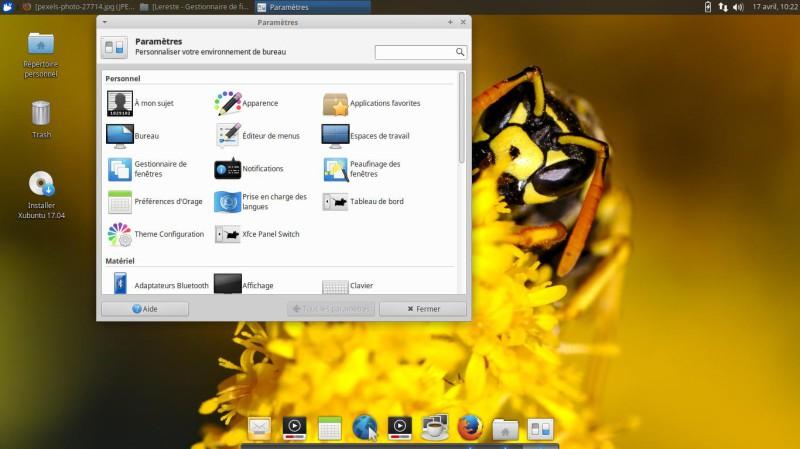 Xubuntu 17.04 para probar en una llave USB o DVD 12