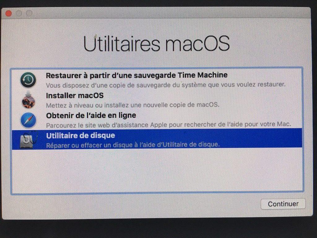 Descenso de macOS High Sierra (10.13) a macOS Sierra (10.12) 5