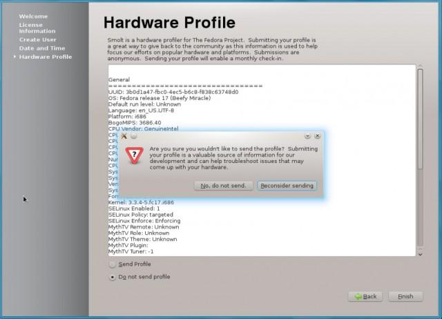 Fedora 17 KDE, instalación en un disco duro vacío 16