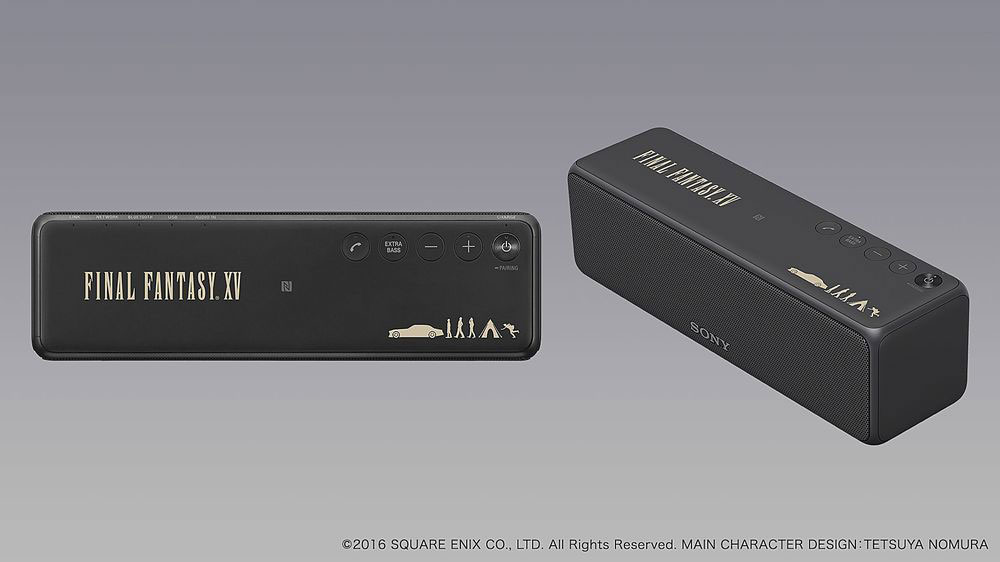 Final Fantasy XV: Sony lanza un walkman de colección con los colores del juego! 3