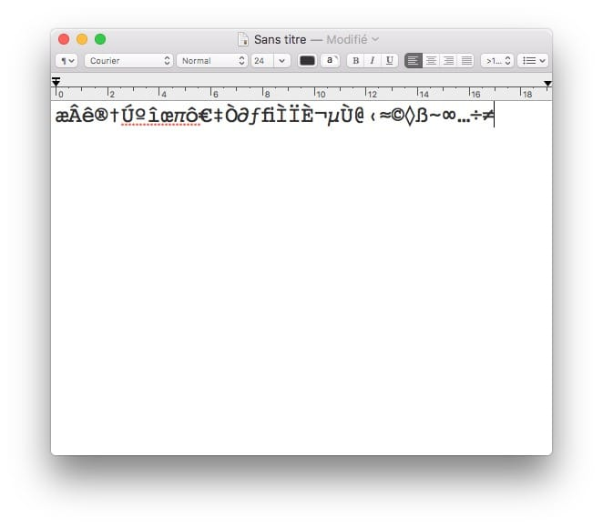 Escribir acentos en Mac OS Sierra (10.12) : instrucciones de uso 3