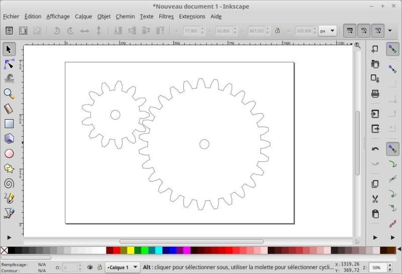 Cómo hacer un dibujo de engranajes 3