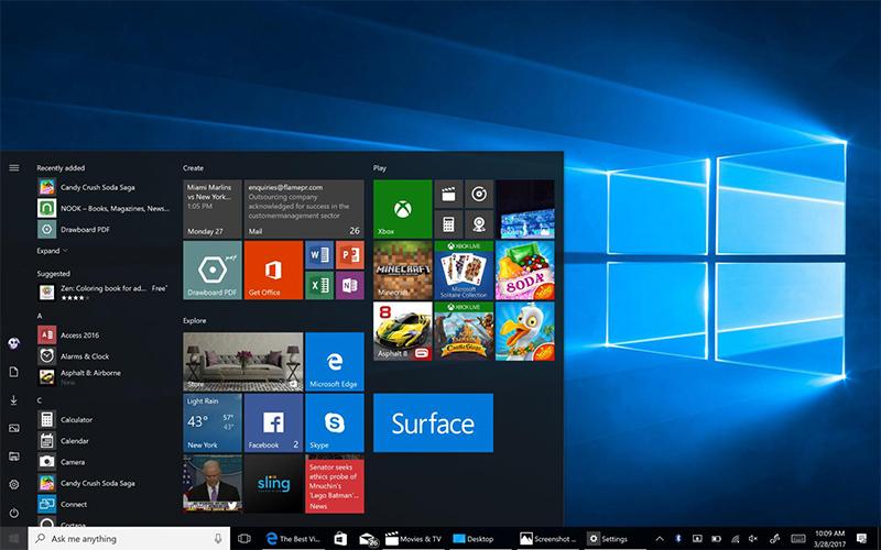Windows 10: ¡Cuantos más núcleos tenga la CPU de su PC, menos reactivo será el sistema! 1