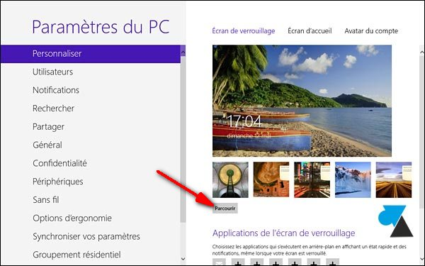 Windows 8 / 8.1: Modificar la imagen en la pantalla de bloqueo 3
