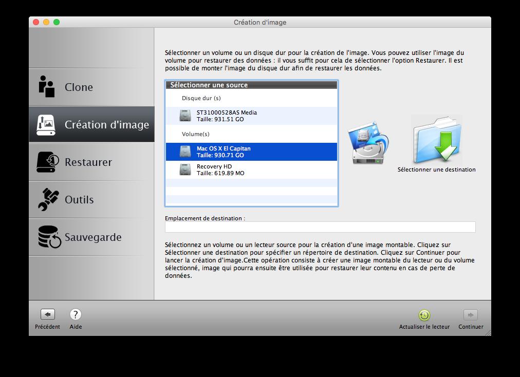 Clone El Capitan Mac OS X (10.11) : copia perfecta en disco 6