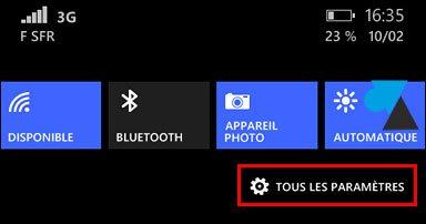 """Windows Phone 8: activar el """"modo guante"""". 2"""