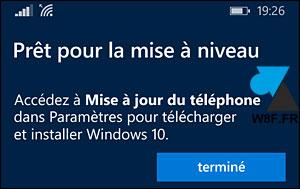 Actualización de Windows Phone 8 a Windows 10 Mobile smartphone 3